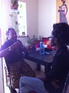 Hishishi Papa Namibian Artist interviewed by oNampa