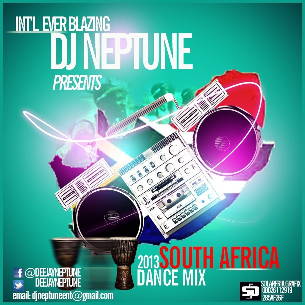 DJ Neptune | The 2013 #SouthAfricaDanceMix