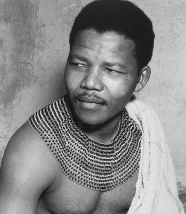 nelson mandela in his youth