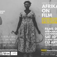 AFRICANS ON FILM FESTIVAL SEPTEMBER 10TH 2016