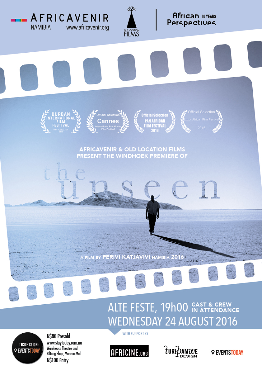 Windhoek Premiere of The Unseen, by Perivi Katjavivi