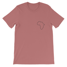 Africa Continent T-Shirt Clothing