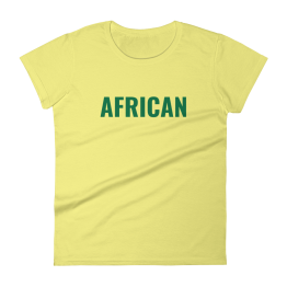 African Women's T-Shirt Clothing