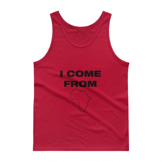I Come From Africa Tank top