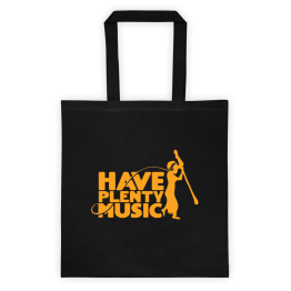 Have Plenty Music Tote bag Orange