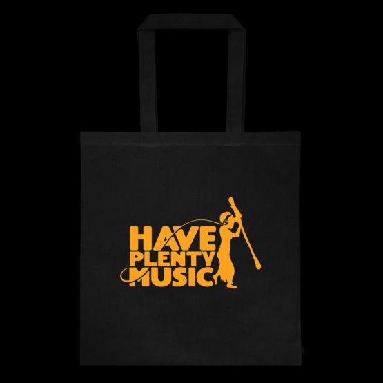 Have Plenty Music Tote bag Orange