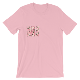 Pink Guerrilla Box Unisex T-Shirt