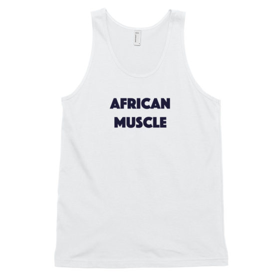 African Muscle Tank Top